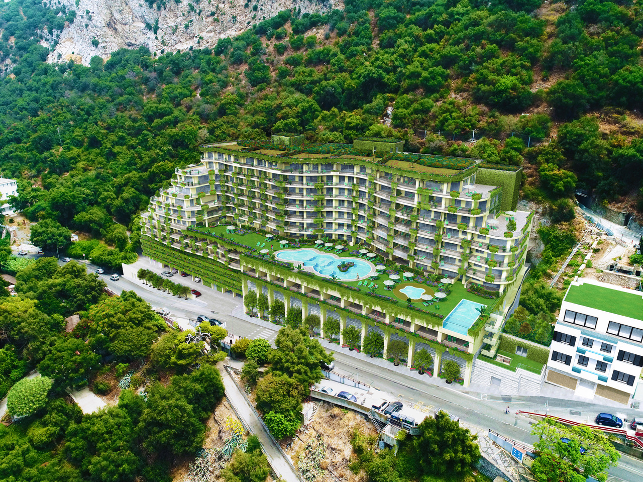 The Greenest Building Ever In Gibraltar – Literally! Image